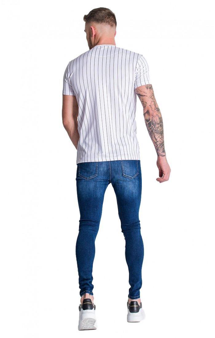 lista nueva comprar mejor los mejores precios Camiseta SikSilk Fade Out Tech Gris y Amarilla Neón